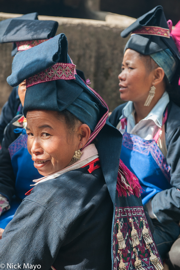 China,Earring,Hani,Hat,Wedding,Yunnan, photo