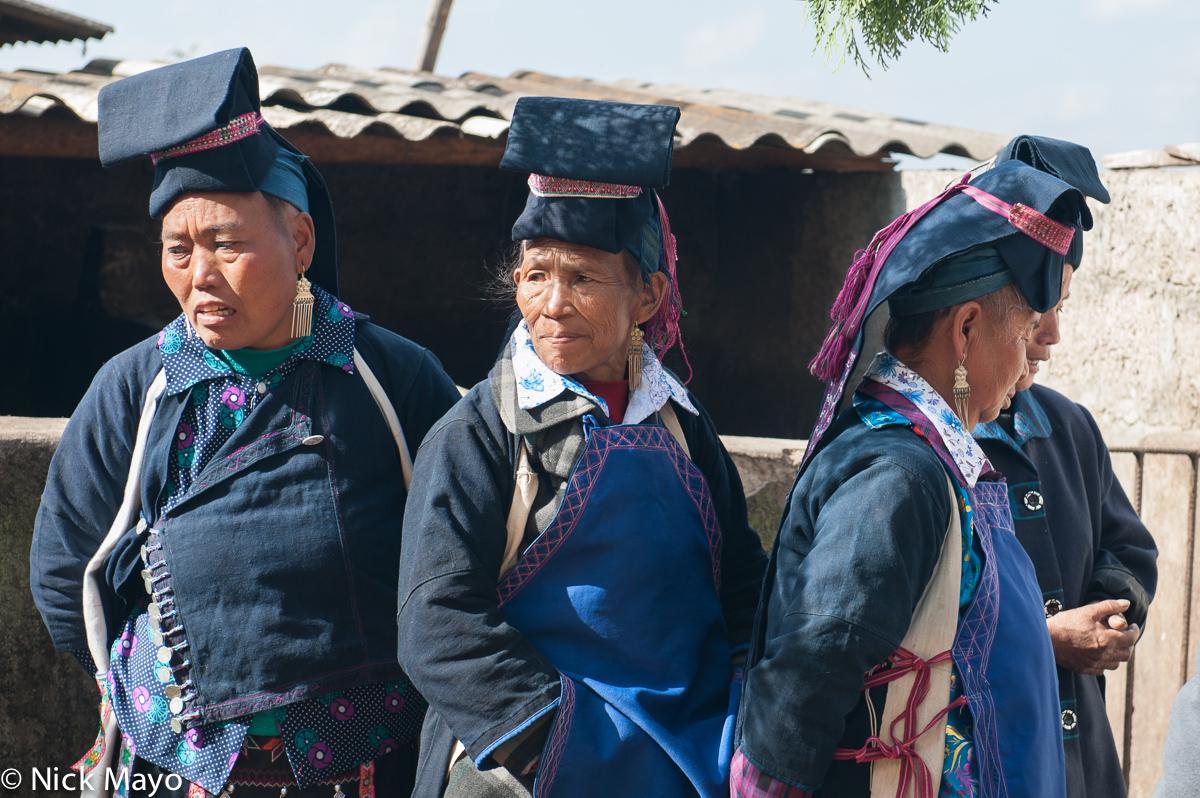 China,Earring,Hani,Hat,Wedding,Yunnan, photo