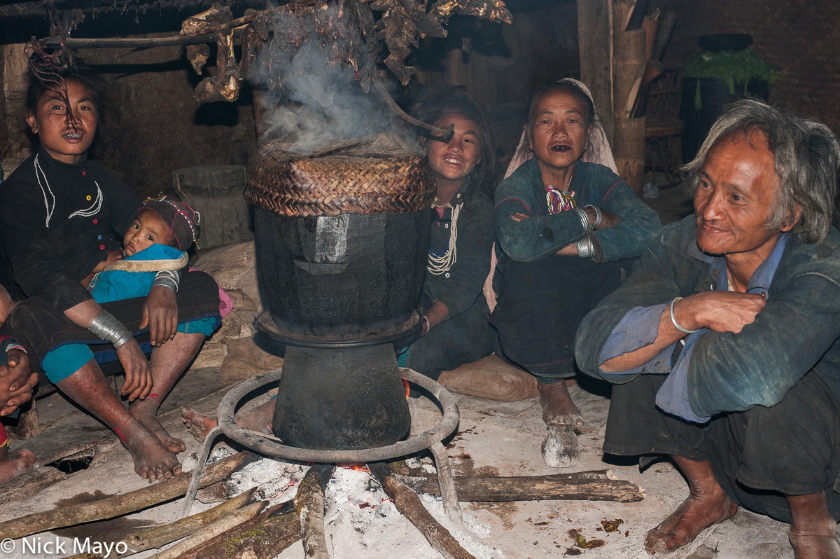 Burma,Cooking,Eng,Hearth,Shan State, photo
