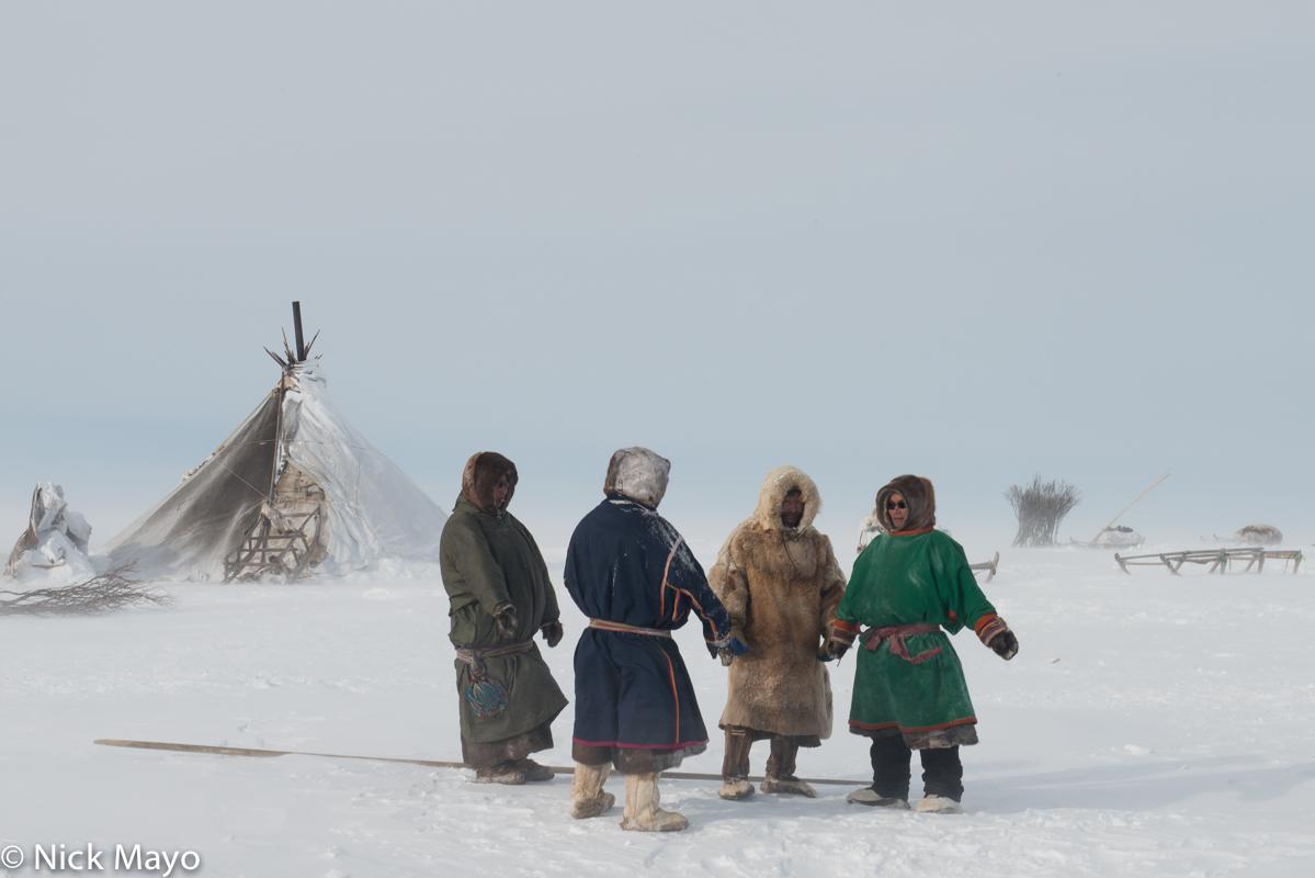 Kisy,Malitsa,Nenets,Russia,Tent,Yamalo-Nenets, photo