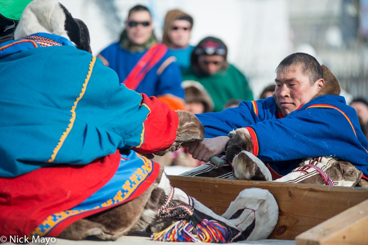 Festival,Kisy,Malitsa,Nenets,Russia,Stick Wrestling,Yamalo-Nenets, photo