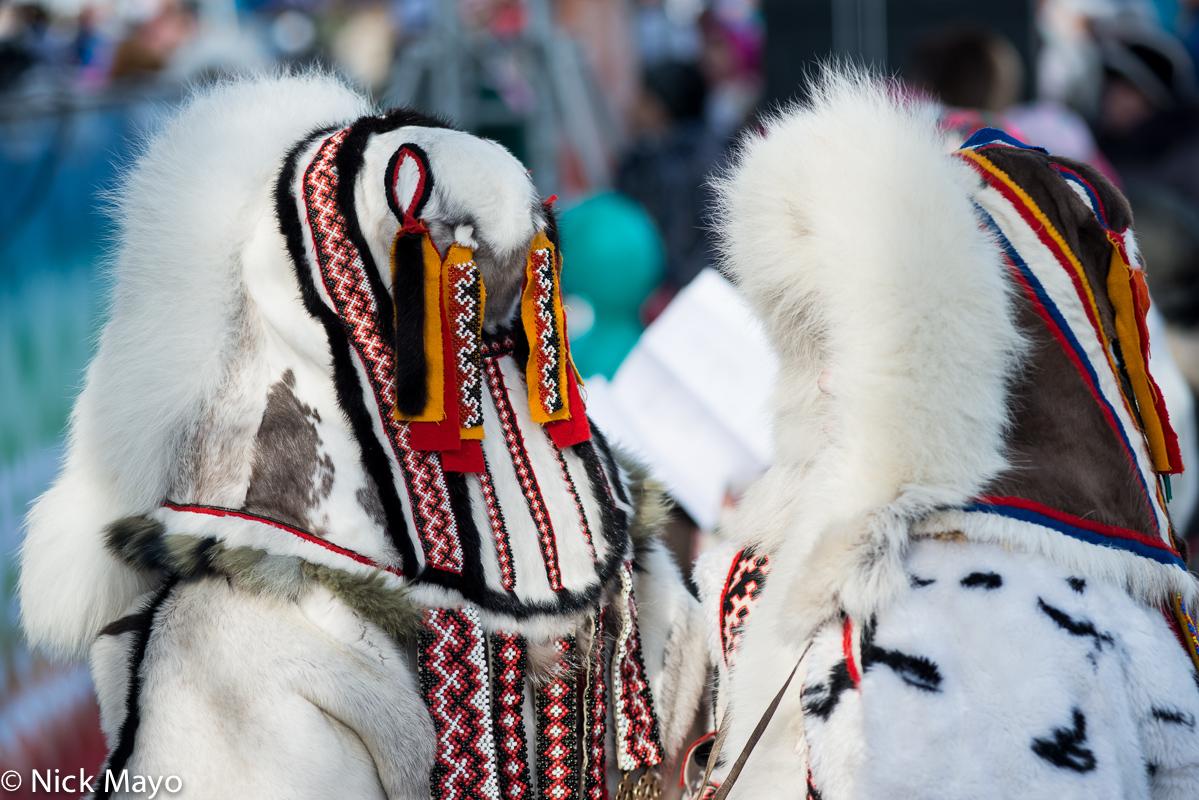 Backpiece,Festival,Nenets,Russia,Yagushka,Yamalo-Nenets, photo
