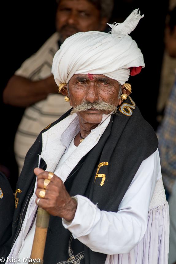 Earring,Festival,Gujarat,India,Rabari,Turban, photo