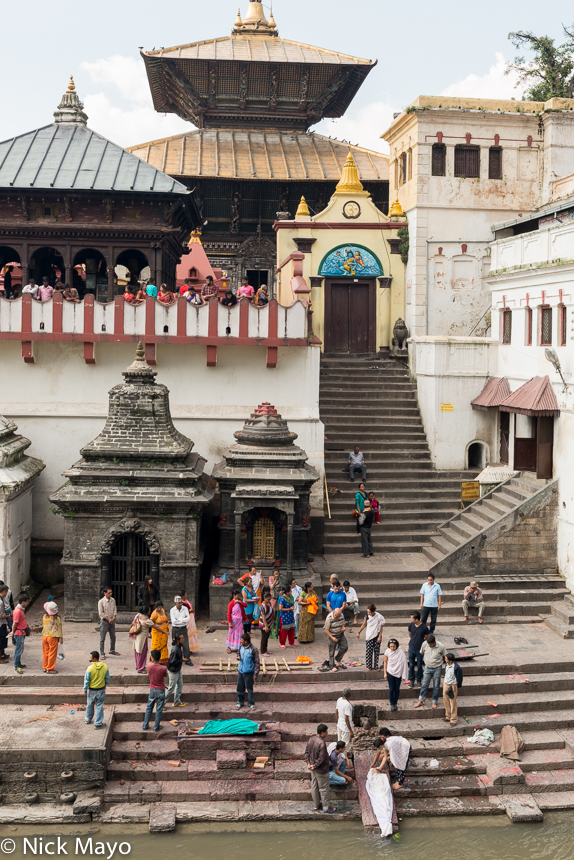 Cremation,Ghat,Kathmandu Valley,Nepal,Temple, photo