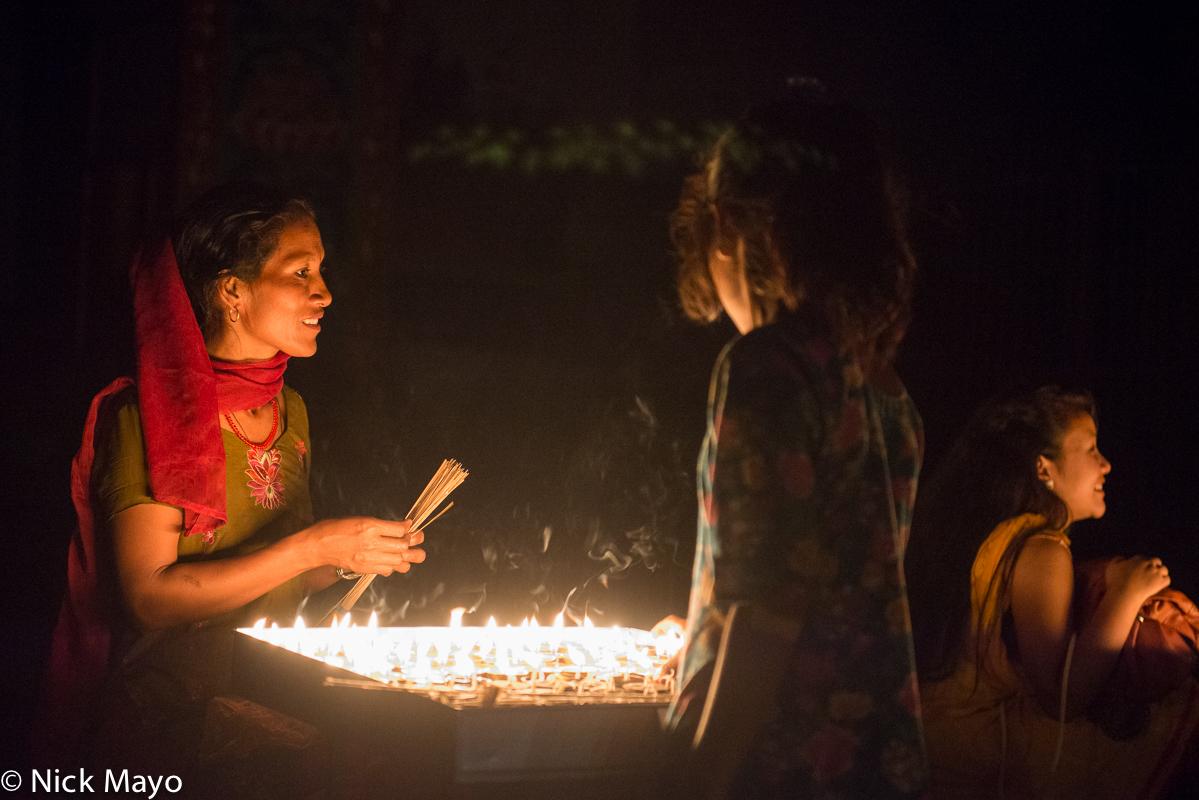 Kathmandu Valley,Nepal,Offering, photo