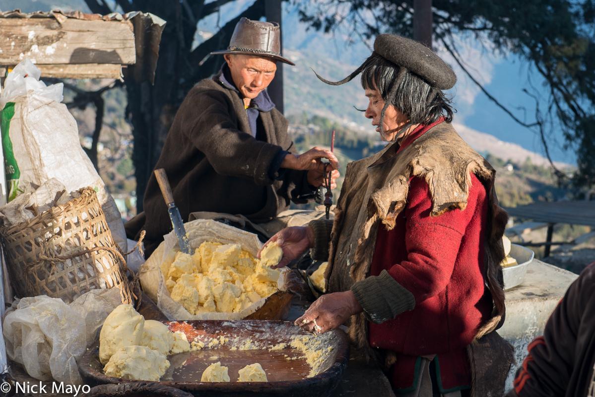 Arunachal Pradesh,Dakpa,Festival,Hat,India,Yak Butter, photo