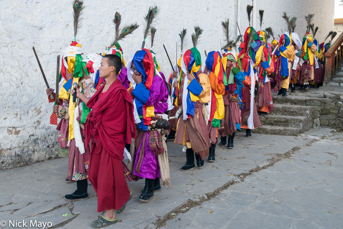 Arunachal Pradesh,Festival,India,Monk,Monpa,Procession, photo