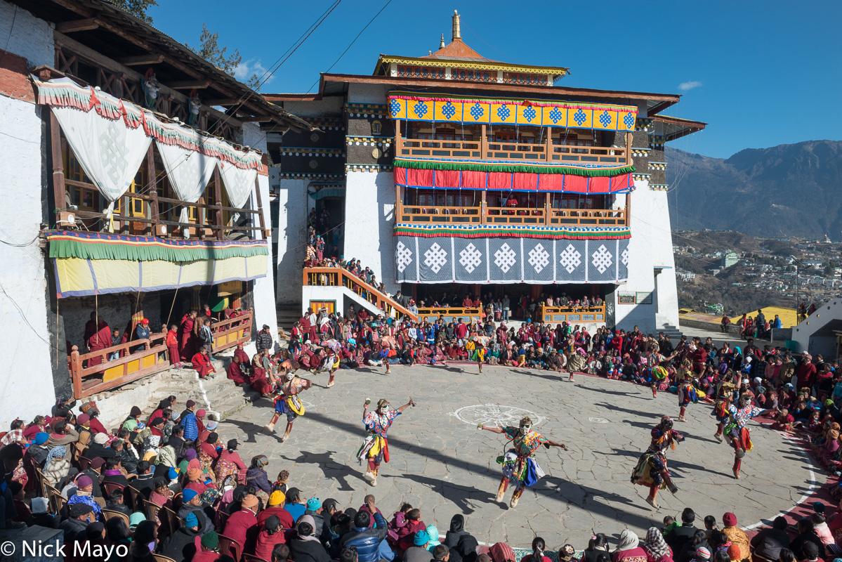 Arunachal Pradesh,Festival,India,Mask,Monastery,Monk,Monpa, photo
