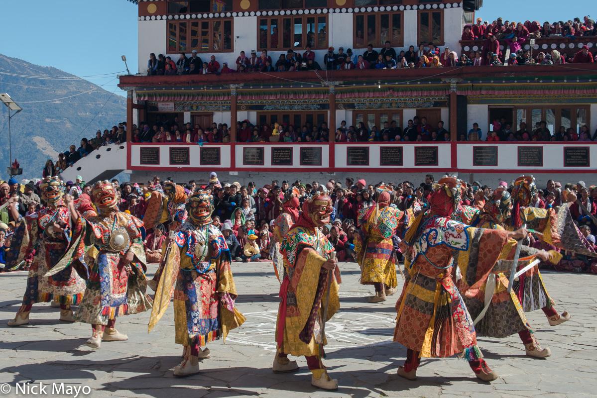 Arunachal Pradesh,Festival,India,Mask,Monk,Monpa, photo