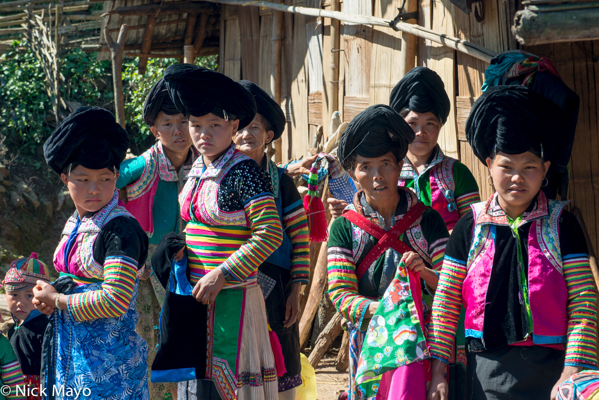 Burma,Miao,Shan State,Turban, photo