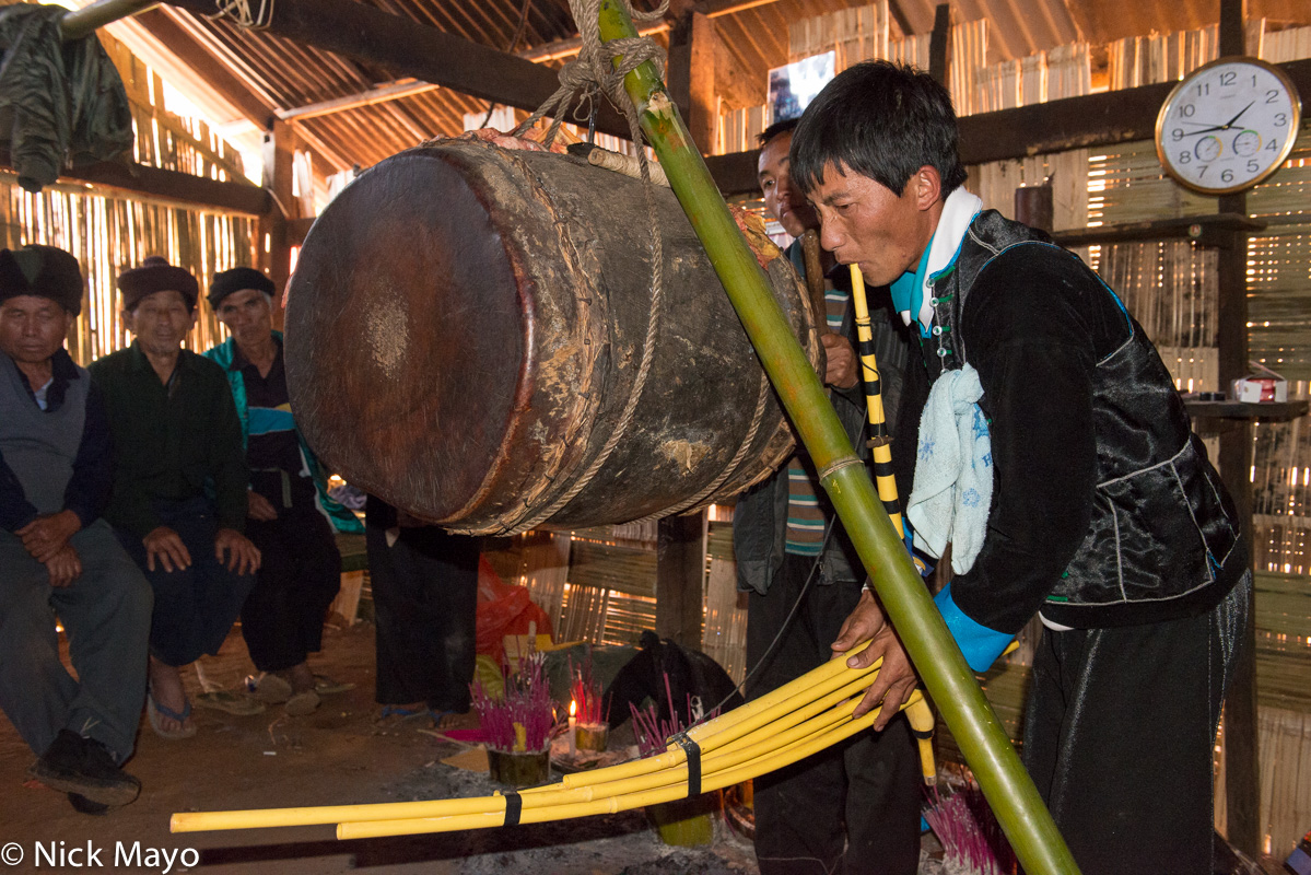 Burma,Drum,Drumming,Festival,Miao,Piping,Shan State, photo