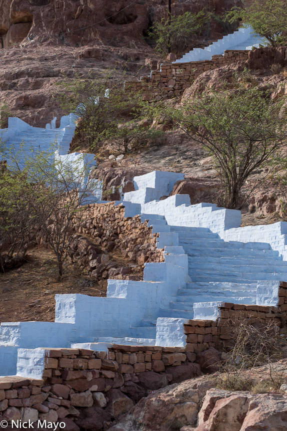 India,Rajasthan,Step, photo