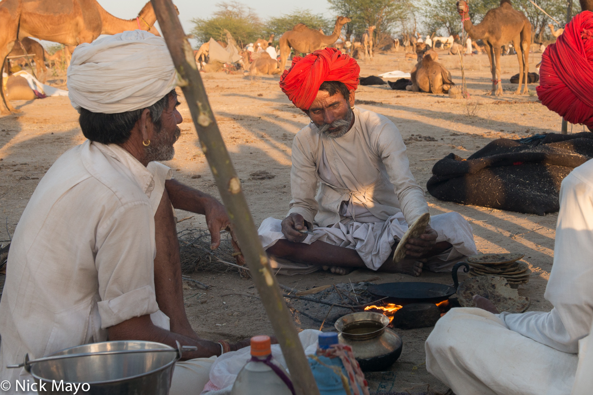 Chapati,Cooking,Festival,India,Rabari,Rajasthan, photo