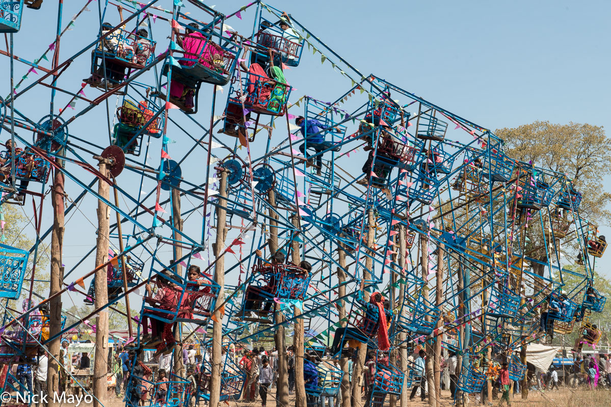 Ferris Wheel,Festival,Gujarat,India, photo