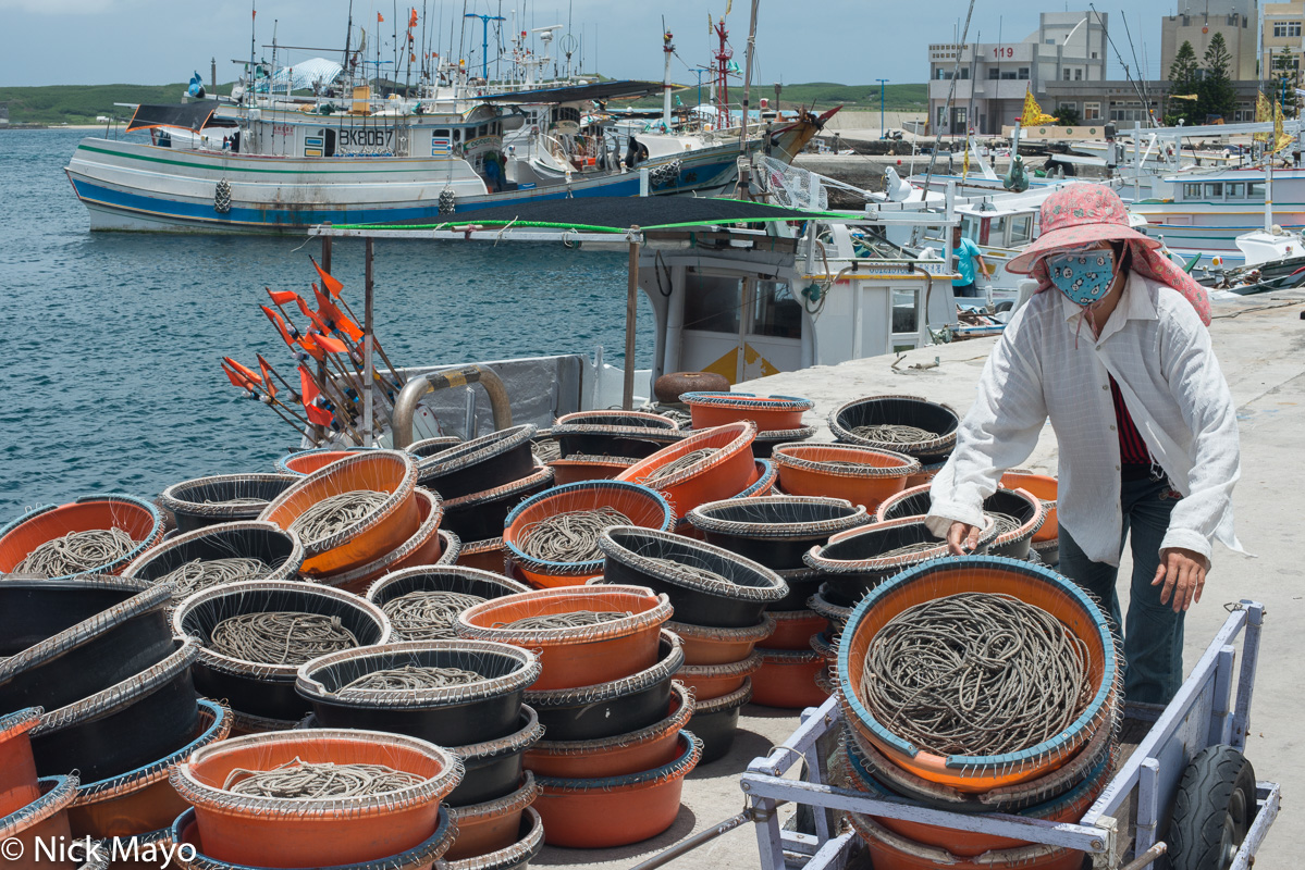 Bait Line,Harbour,Penghu,Taiwan, photo
