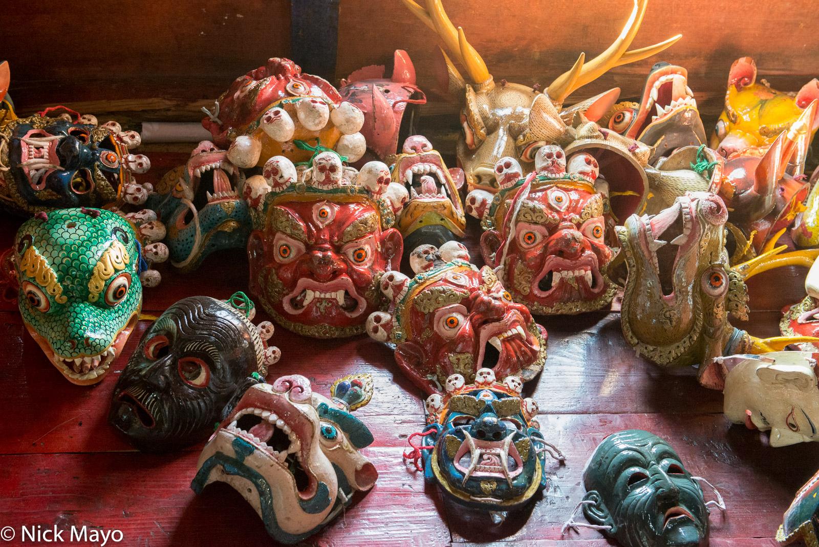 Bhutan,East,Mask, photo