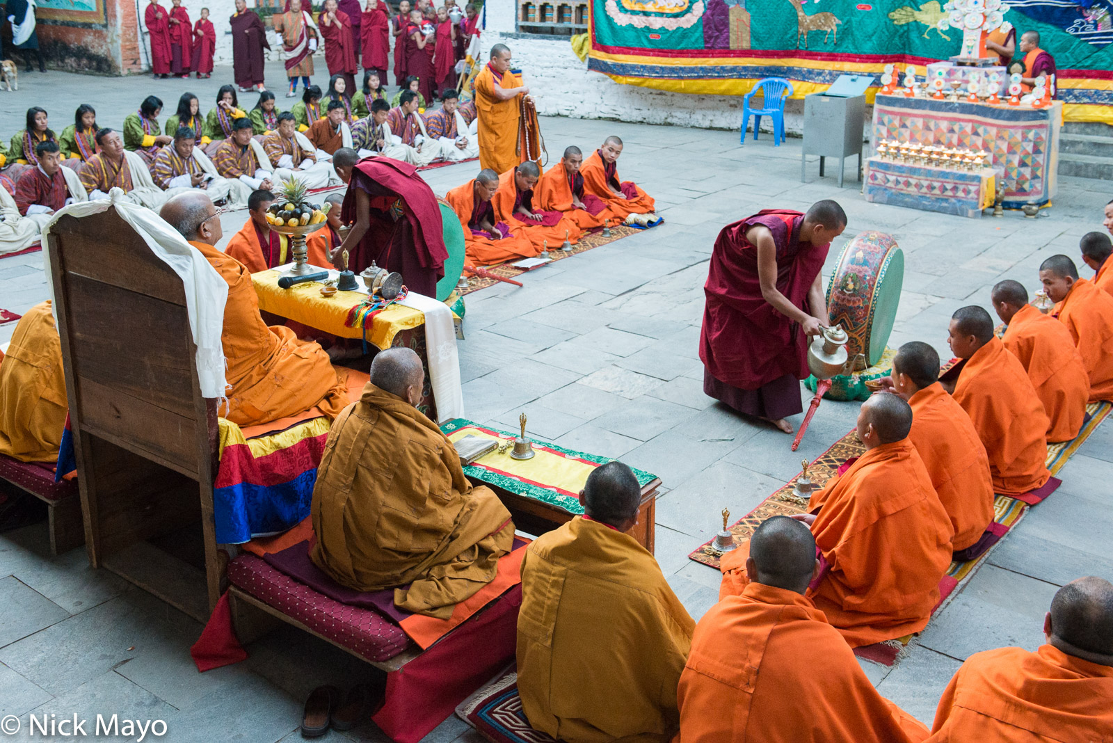 Bhutan,East,Festival,Monk, photo