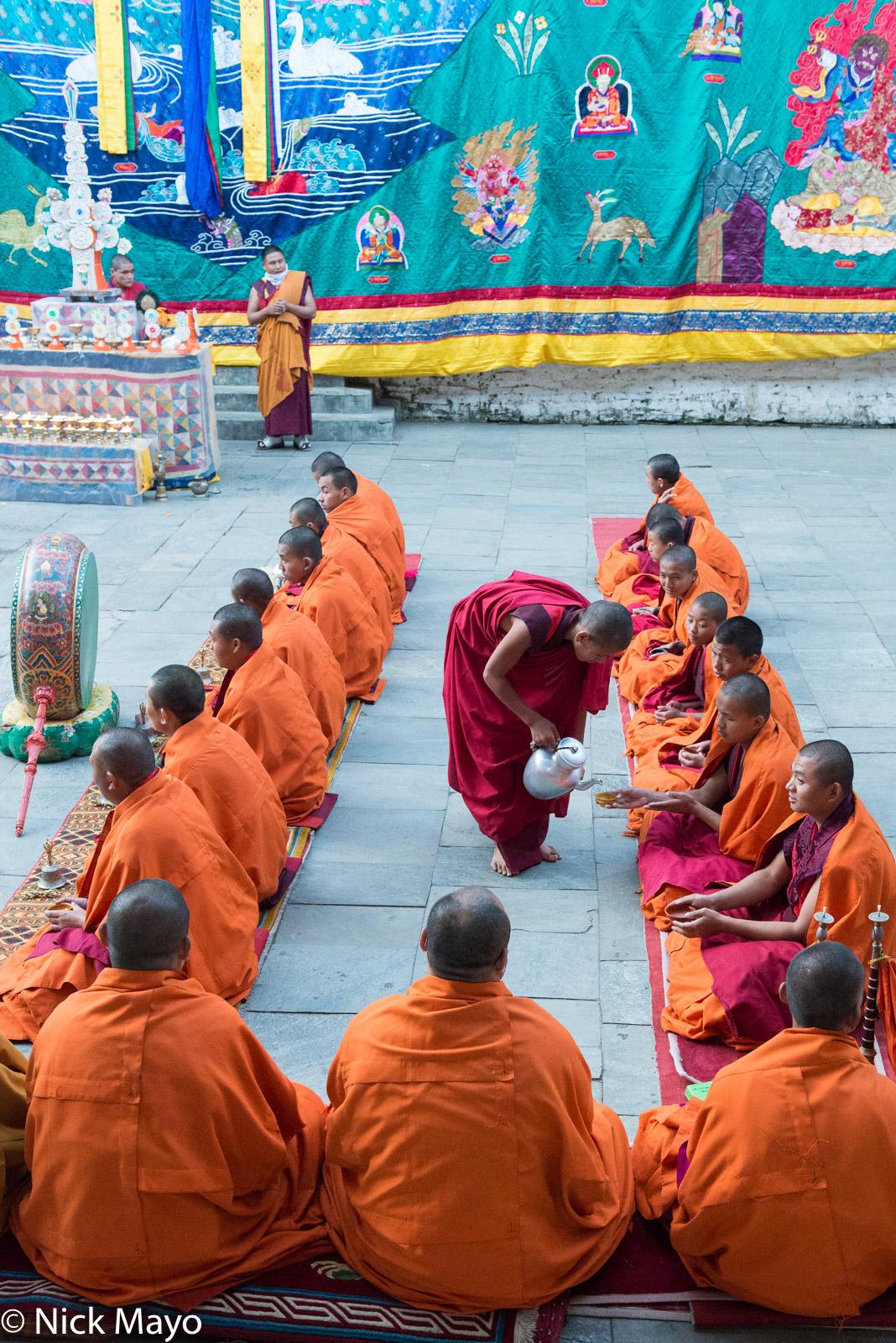 Bhutan,Drum,East,Festival,Monk,Tanka, photo