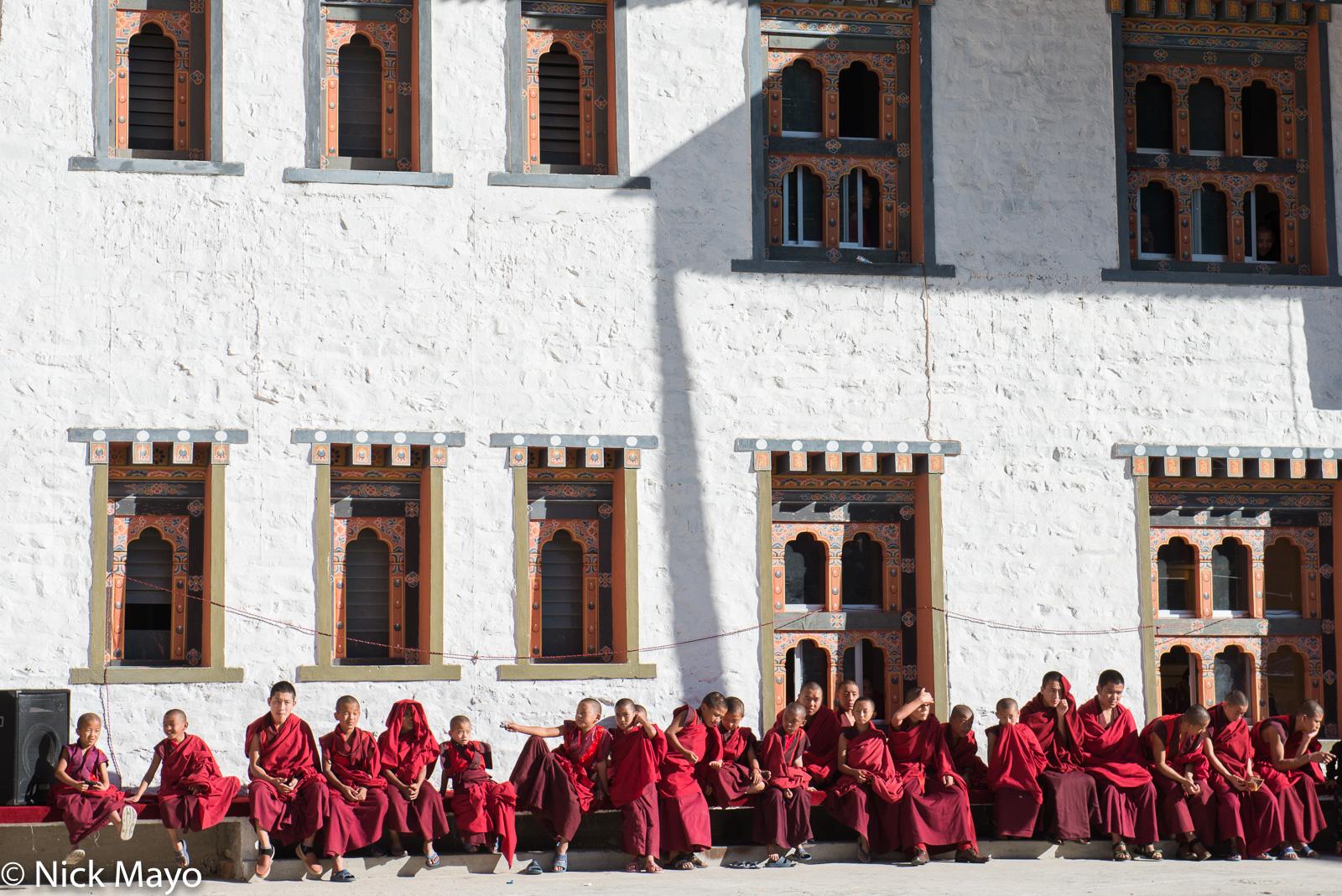 Bhutan,Dzong,East,Festival,Monk, photo
