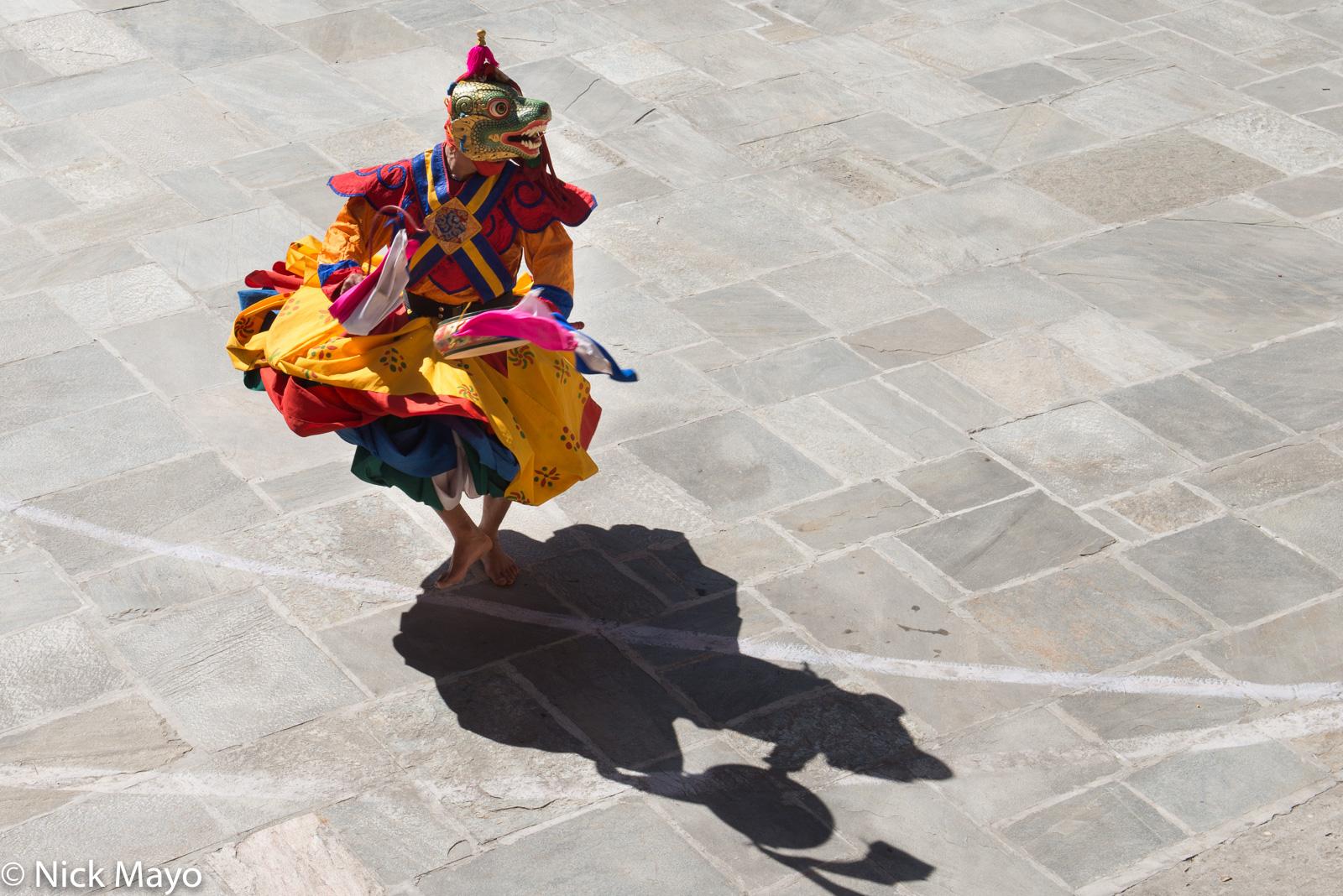 Bhutan,Dancing,East,Festival,Mask,Monk, photo