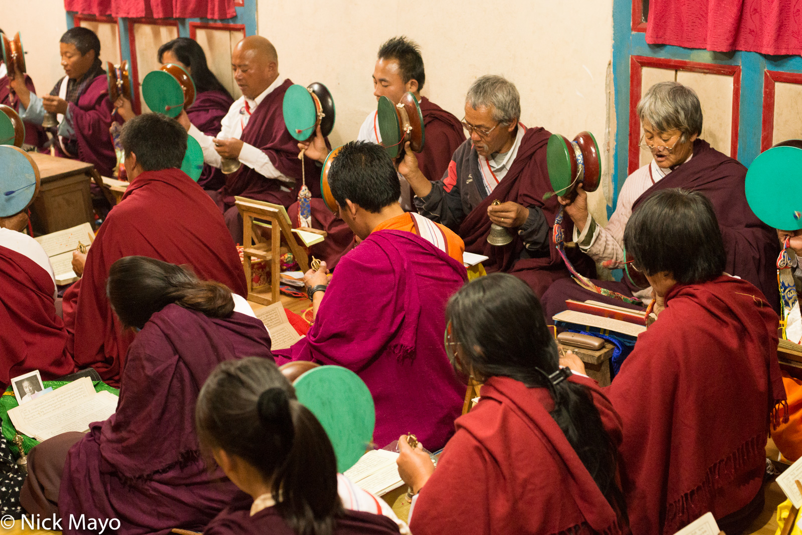 Bell,Bhutan,Chanting,Drum,East,Scripture, photo