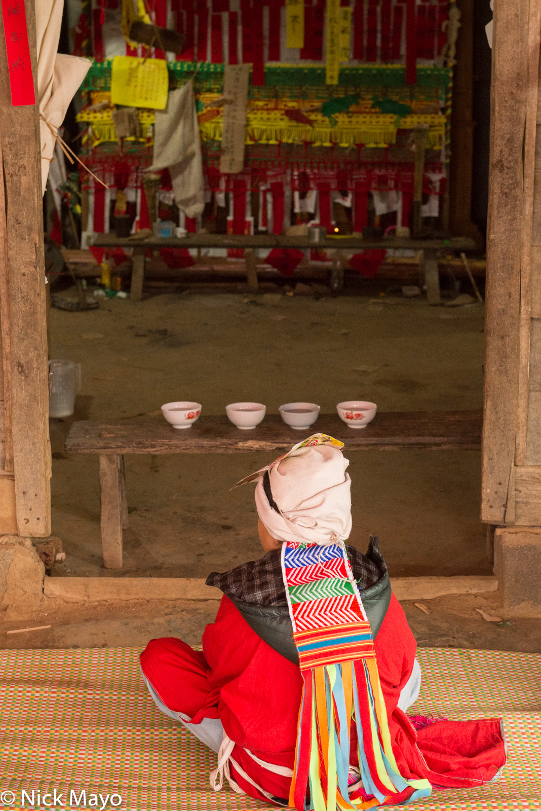 Altar, Dujie, Lai Chau, Vietnam, Yao, photo