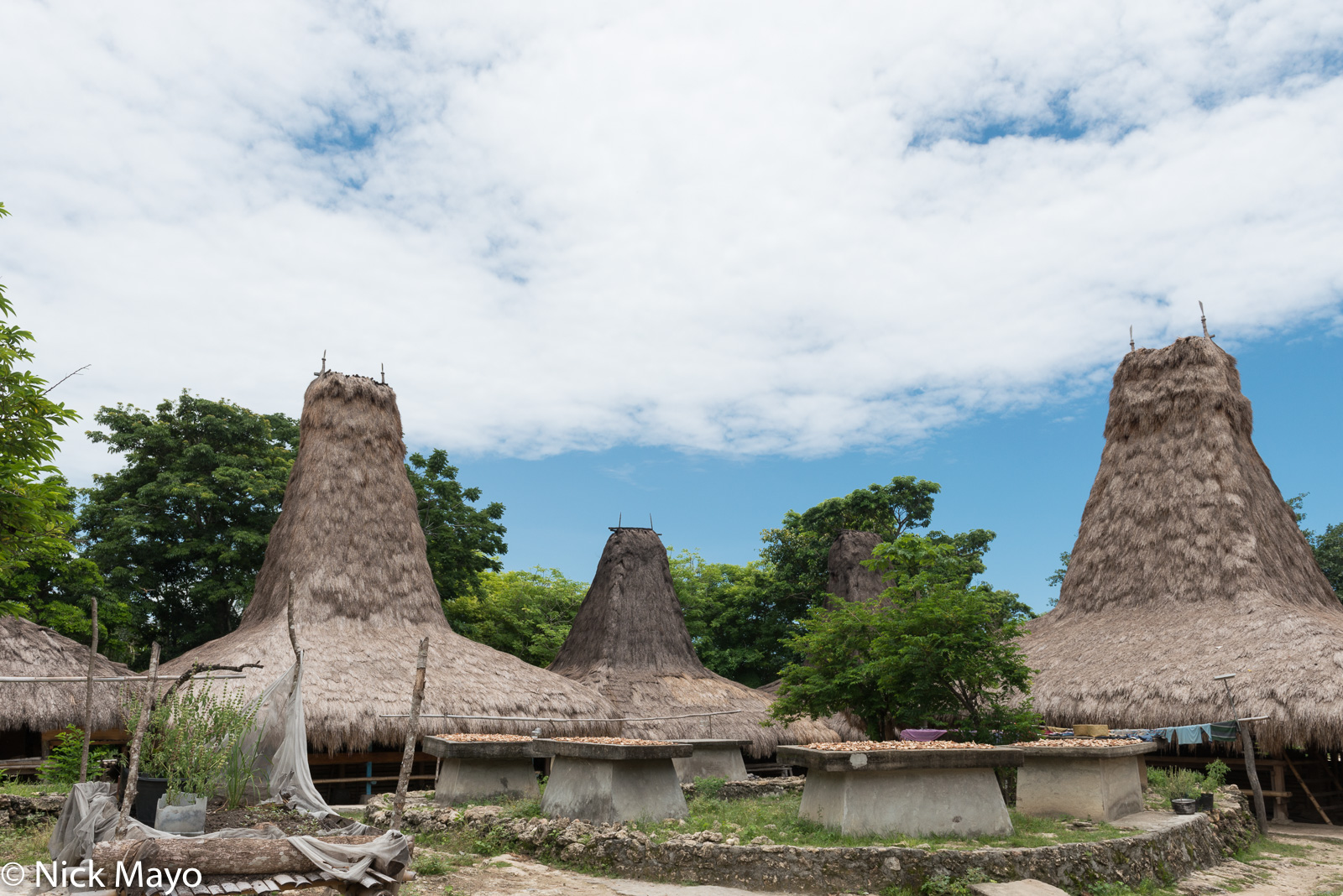 Grave, Indonesia, Roof, Sumba, Thatch, Village, photo