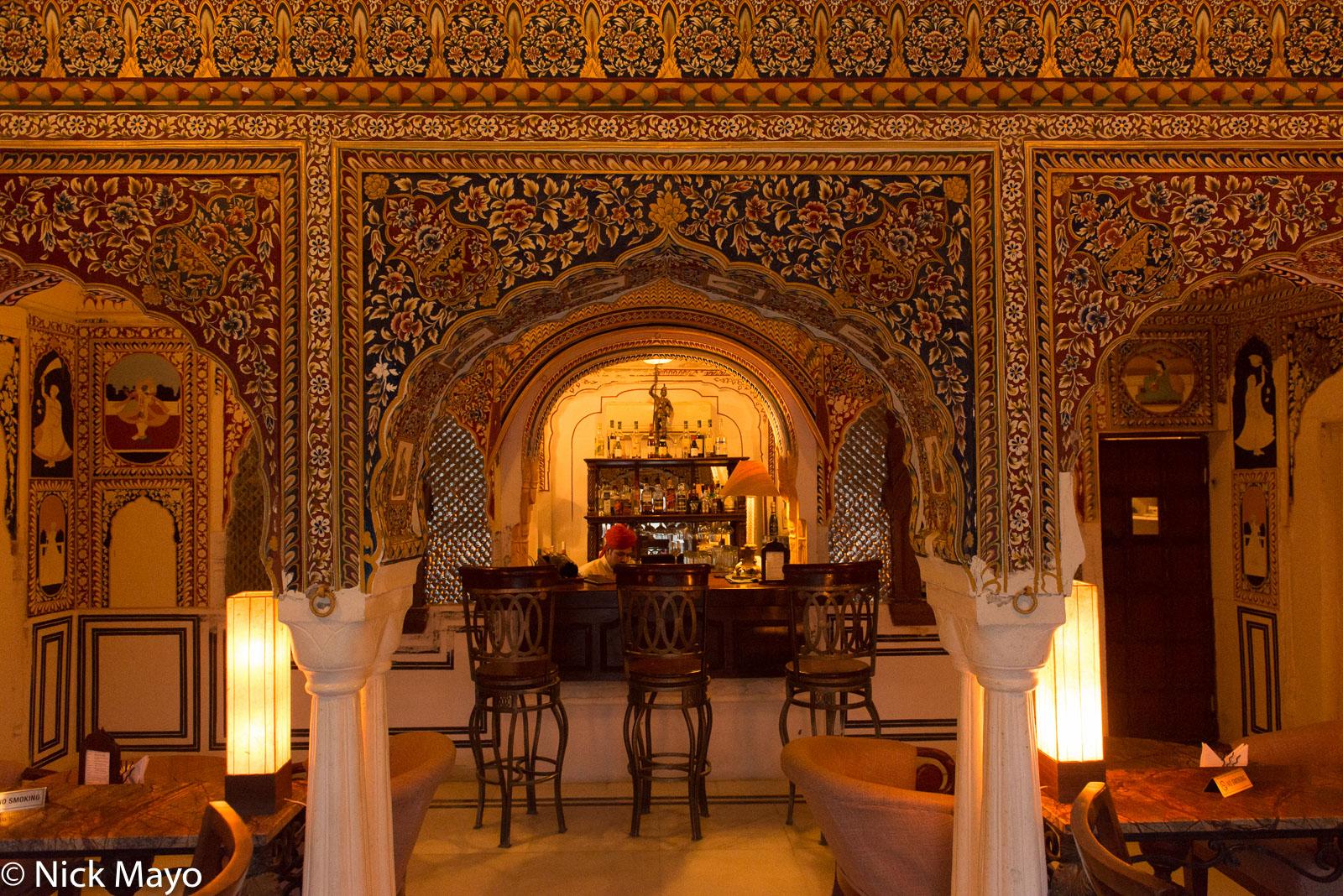 Bar, India, Mural, Rajasthan, photo