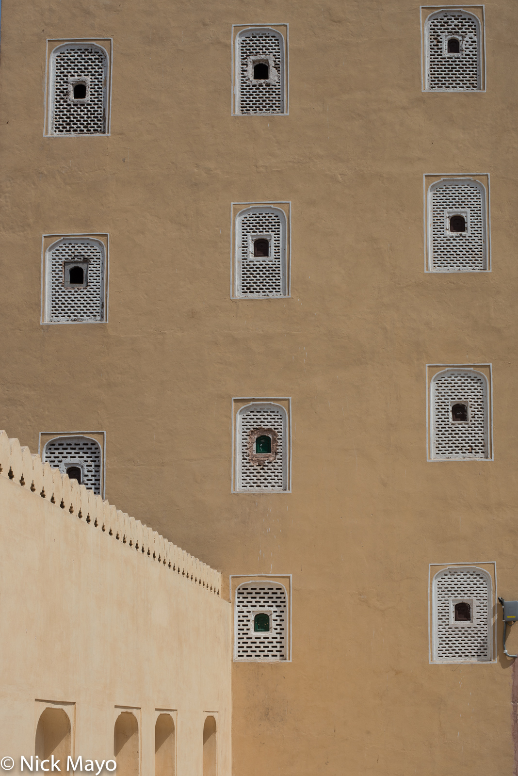 India, Rajasthan, Window, photo