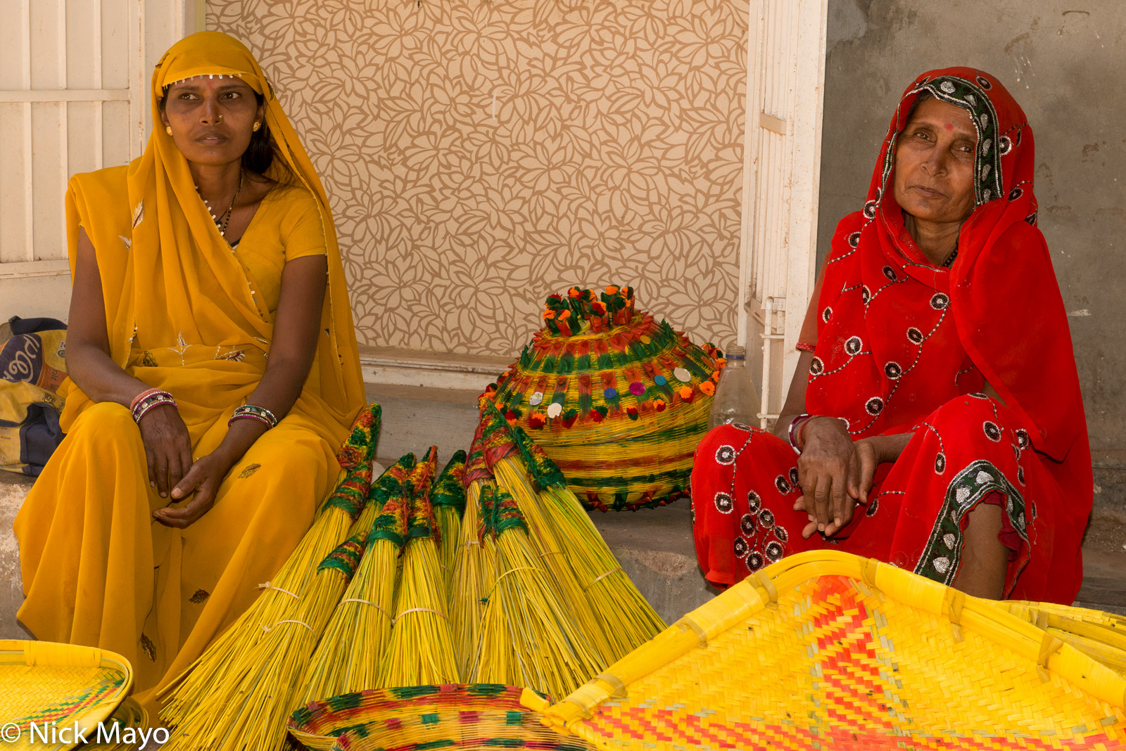 Gujarat, India, Market, Selling, photo