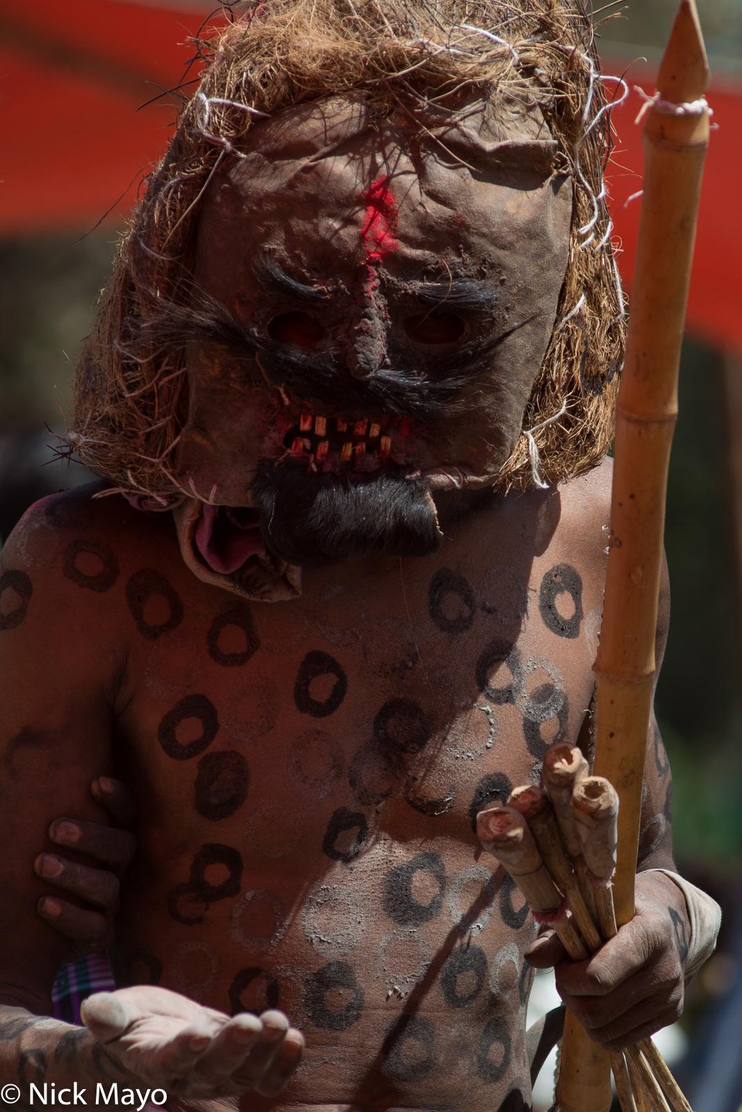 Bhil, India, Madhya Pradesh, Mask, photo