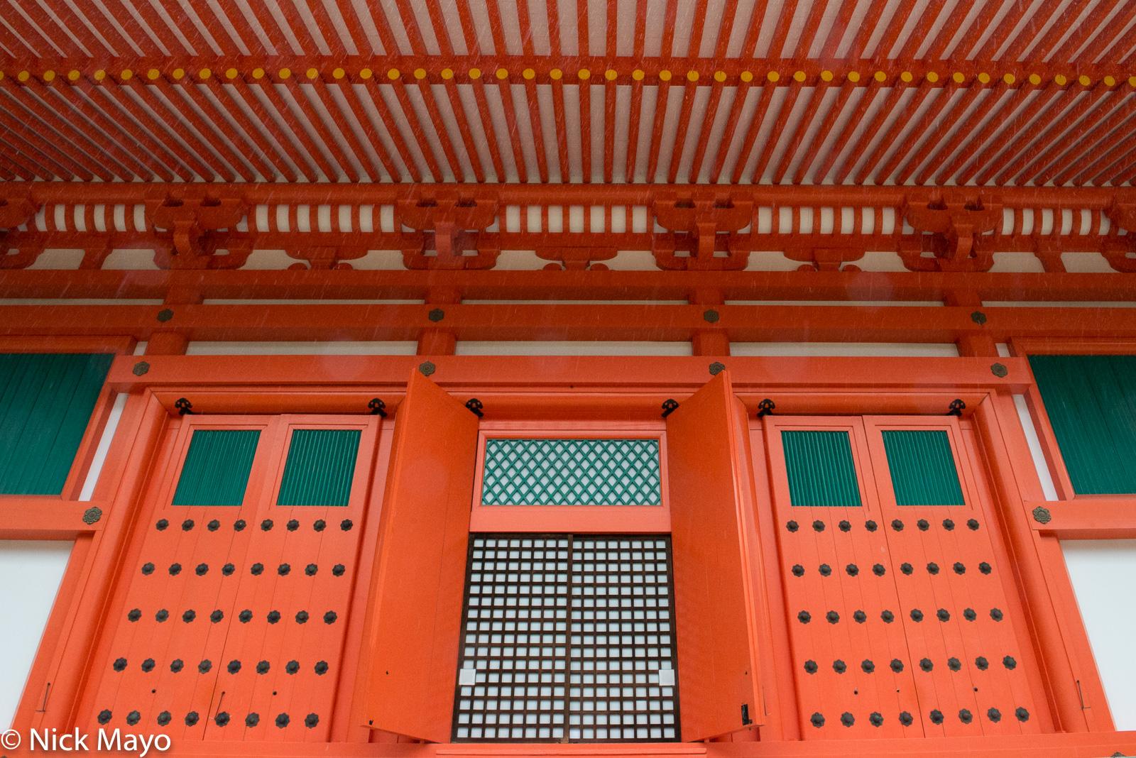Doorway, Japan, Kinki, Pagoda, photo