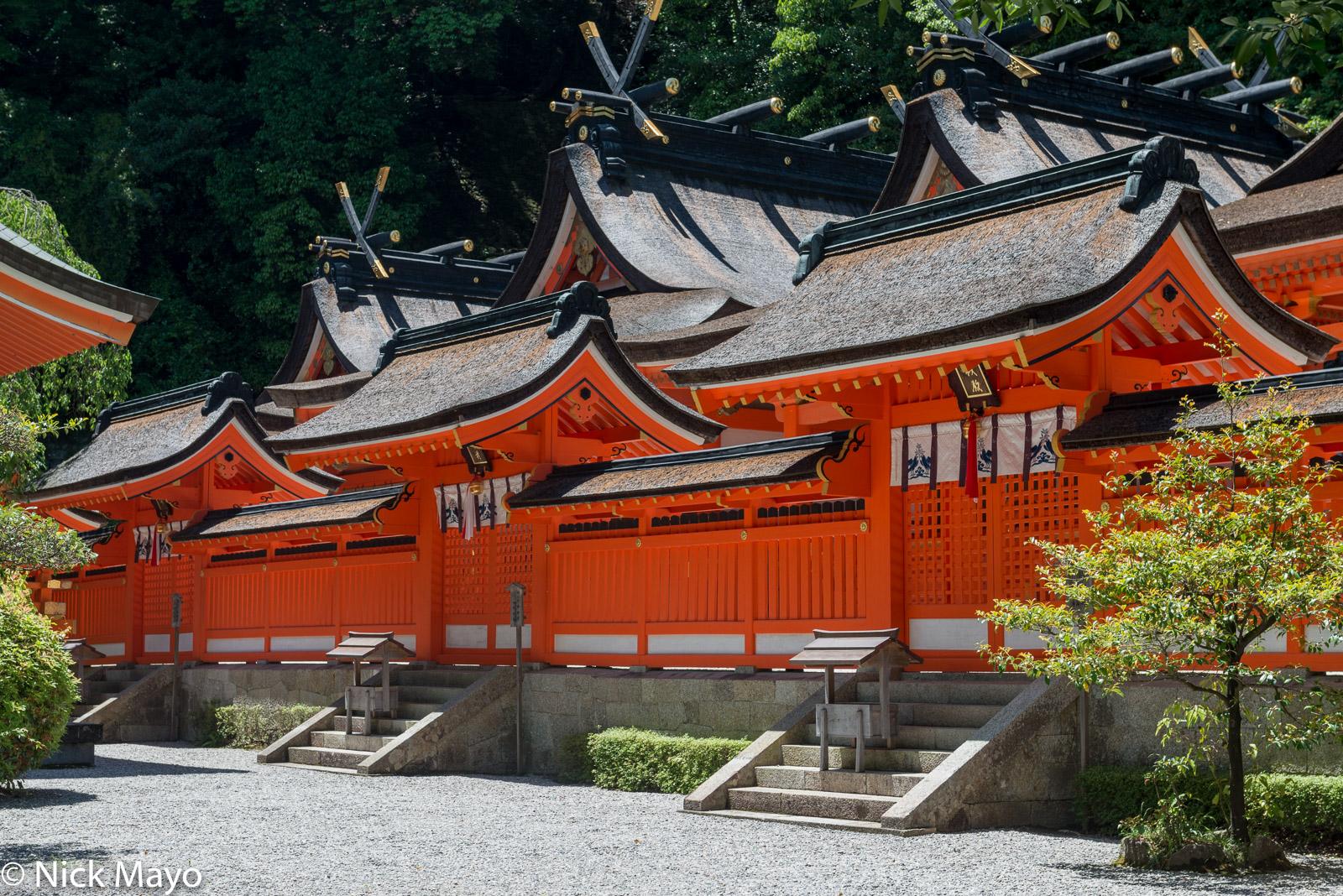 Japan, Kinki, Roof, Temple, photo