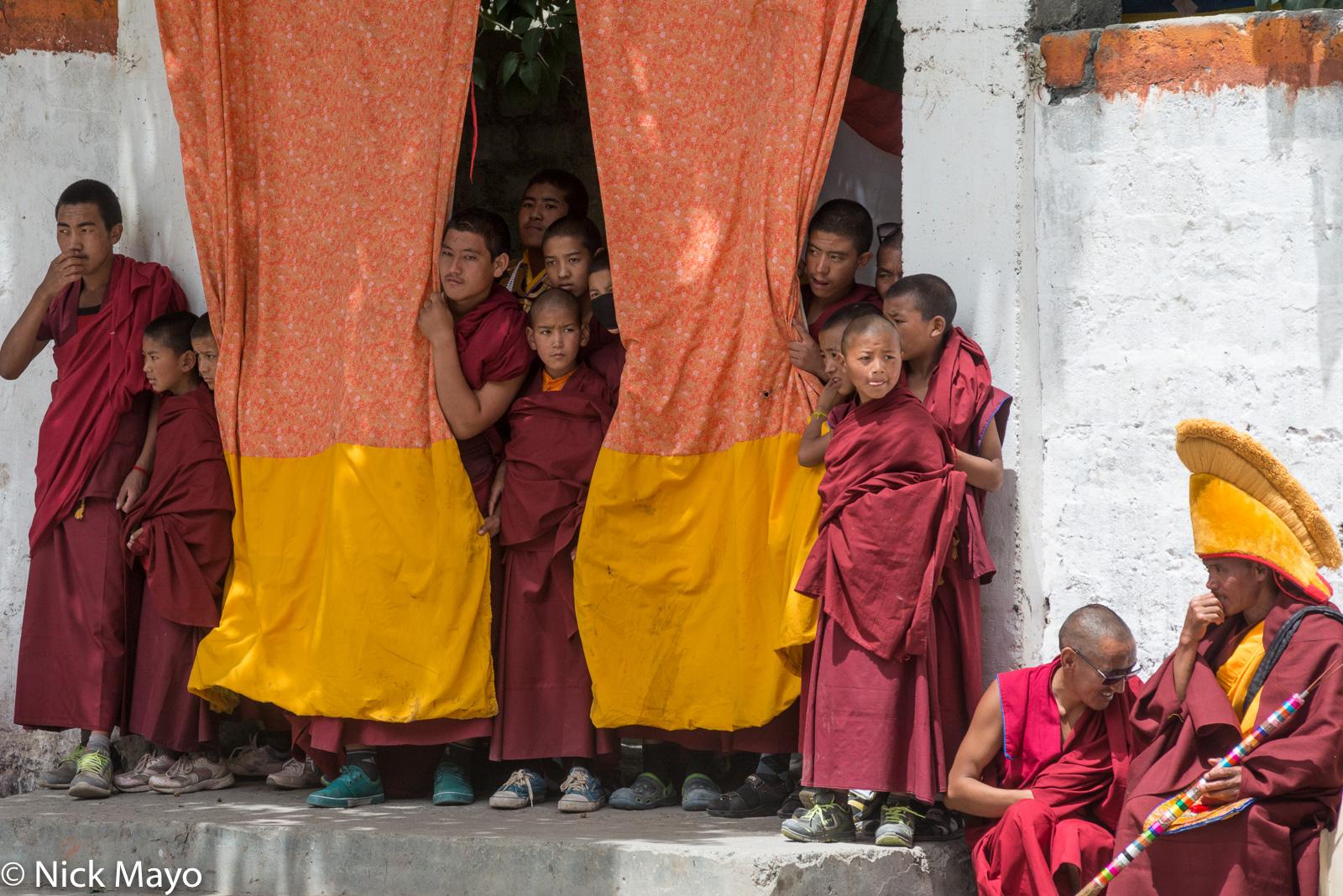Festival,Himachal Pradesh, India, Monk, photo