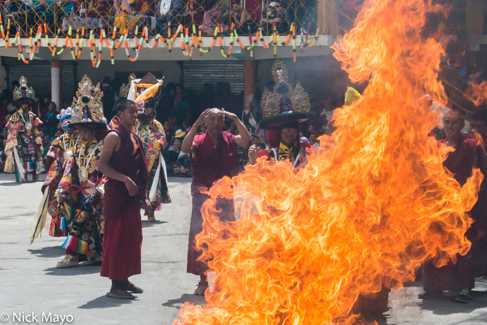 Festival,Himachal Pradesh, India, Monk, photo