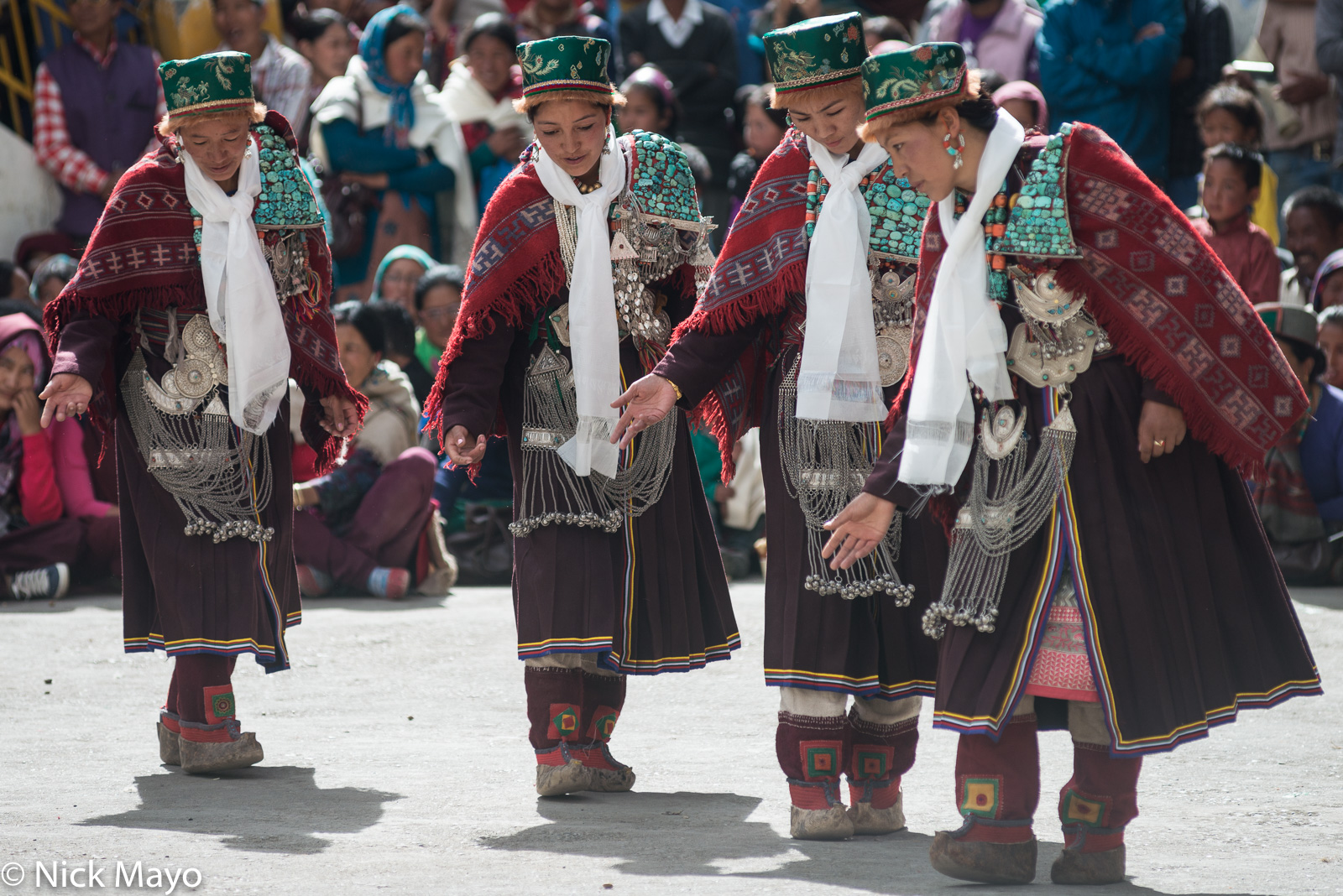 Dancing, Festival, Himachal Pradesh, India, photo