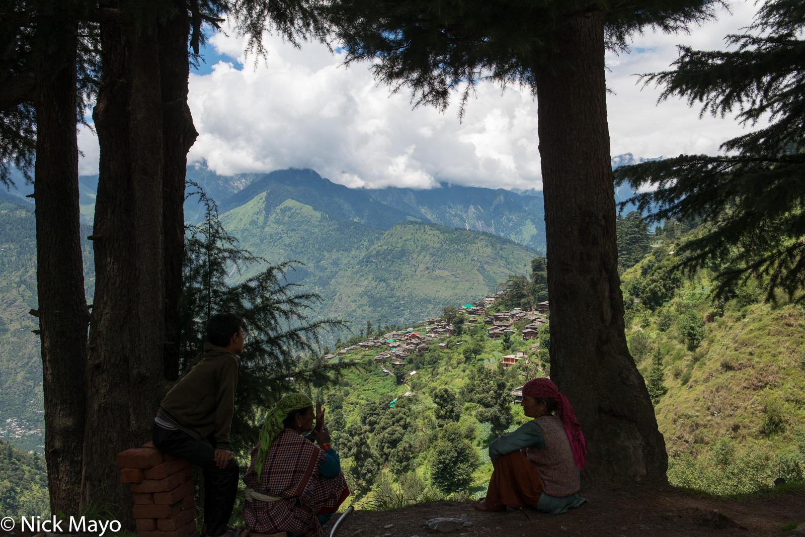 Himachal Pradesh, India, Village, photo