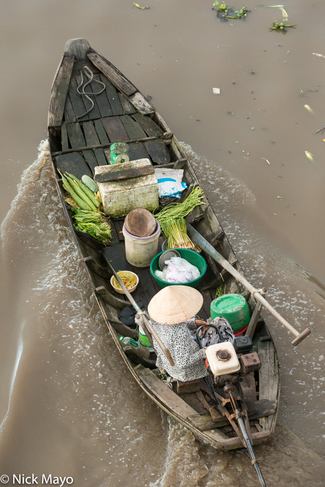 Boat, Soc Trang, Vietnam, photo