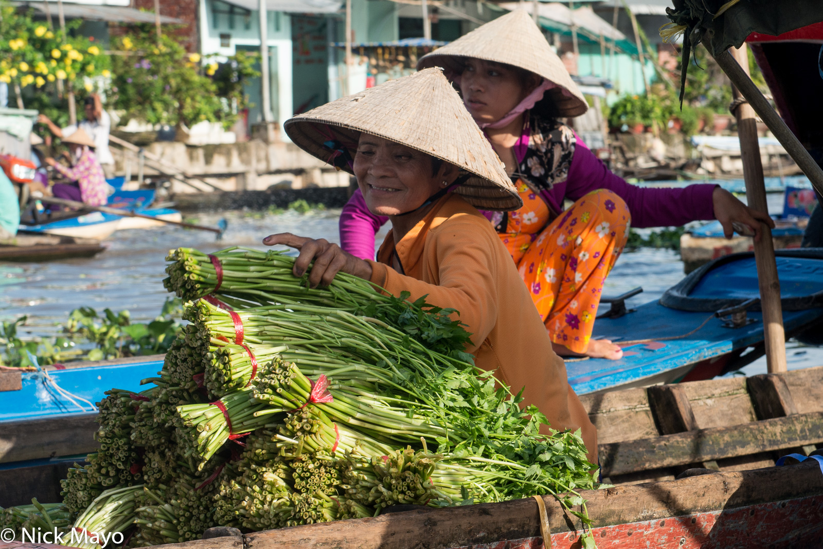 Market, Soc Trang, Vegetable, Vietnam, photo