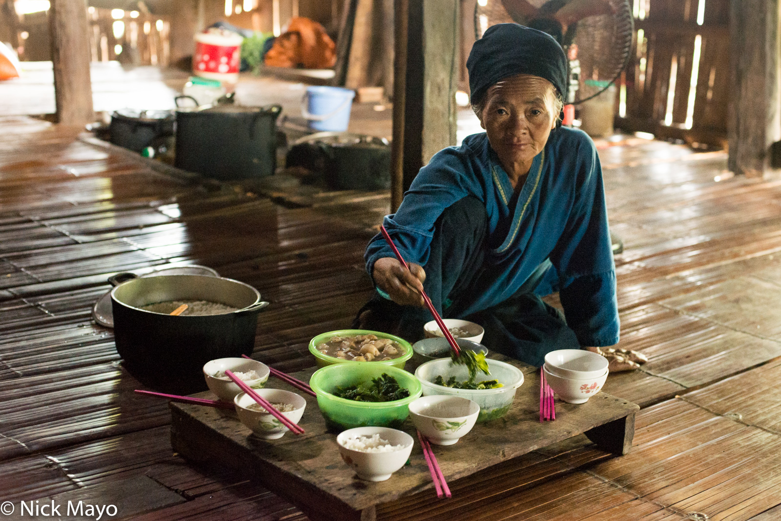 Eating, Ha Giang, Vietnam, Zhuang, photo