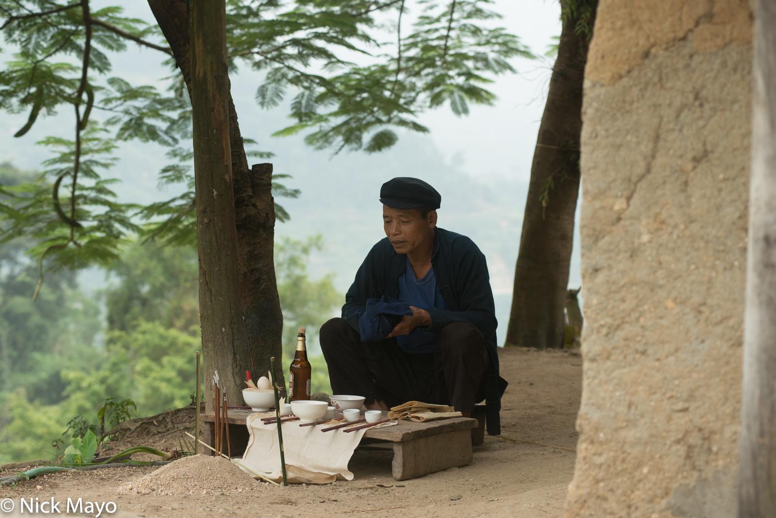 Ha Giang, Ritual, Shaman, Vietnam, Zhuang, photo