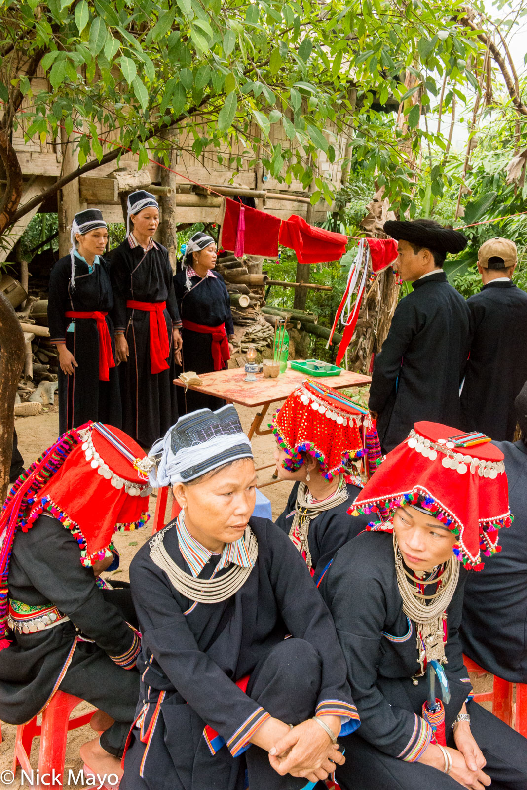 Ha Giang, Hat, Necklace, Singing, Vietnam, Wedding, Yao, photo