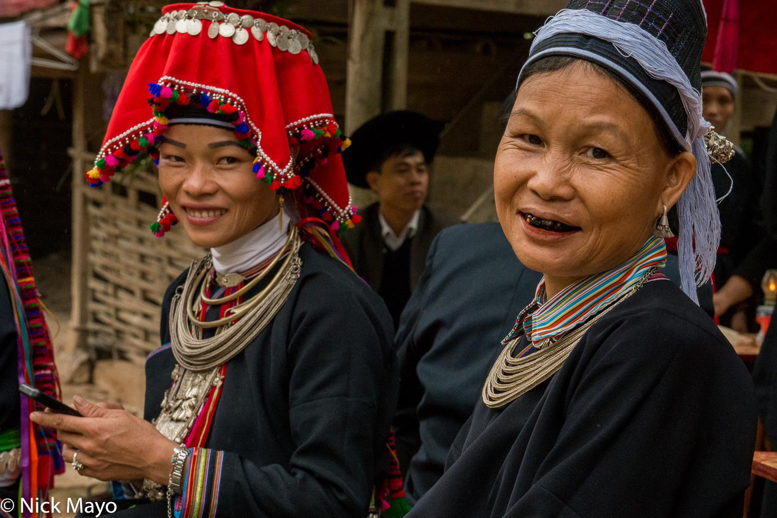 Earring, Ha Giang, Hat, Necklace, Teeth, Vietnam, Wedding, Yao, photo