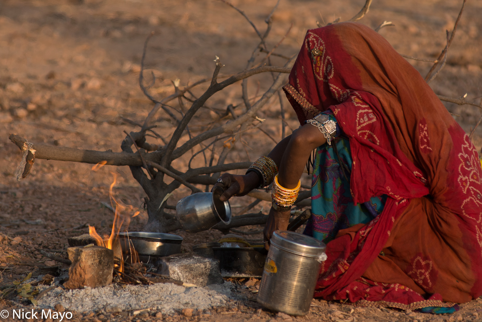 Cooking, Festival, India, Rajasthan, photo