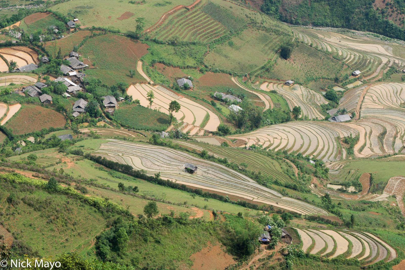 Hut, Vietnam, Village, Yen Bai, photo