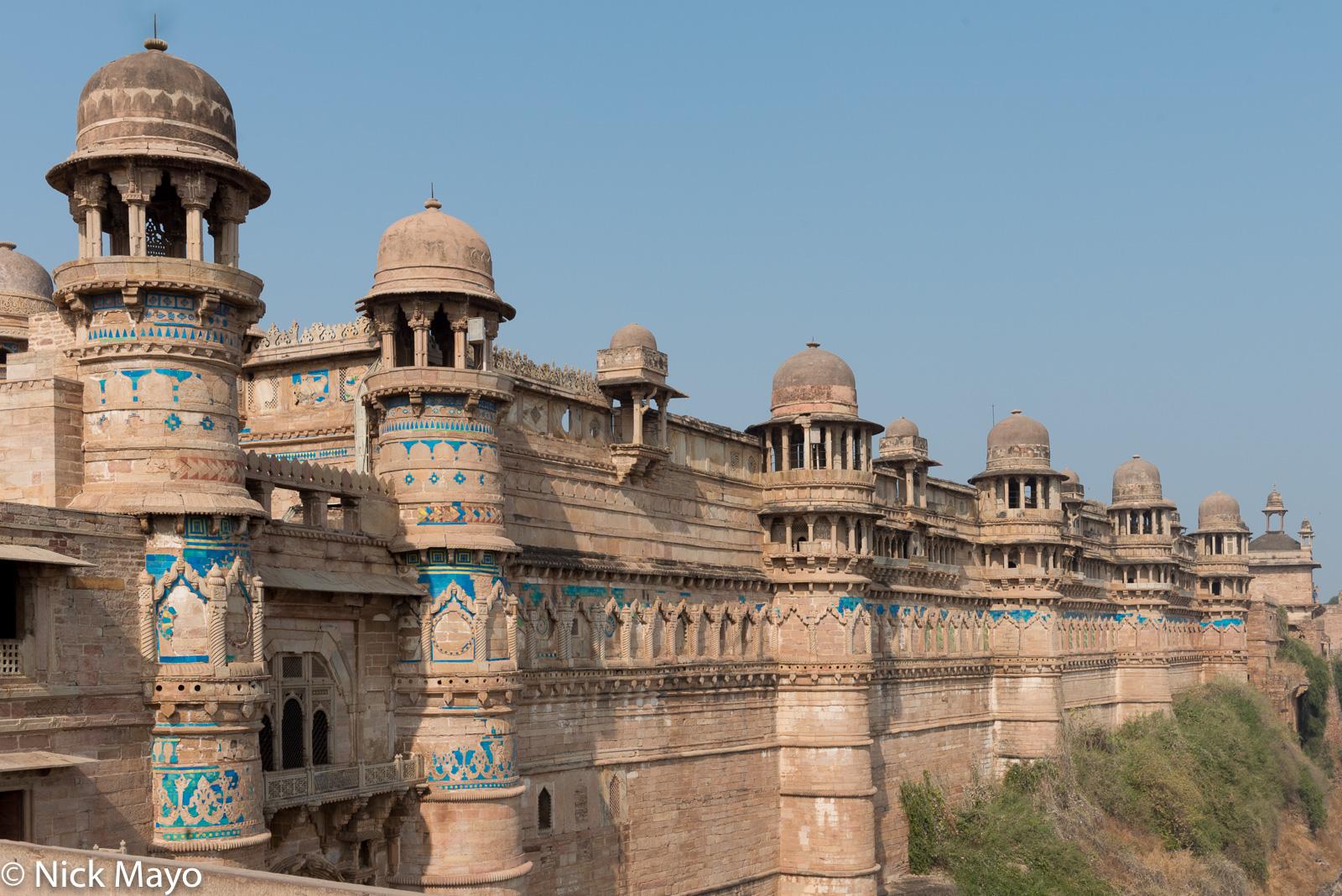 India, Madhya Pradesh, Palace, photo