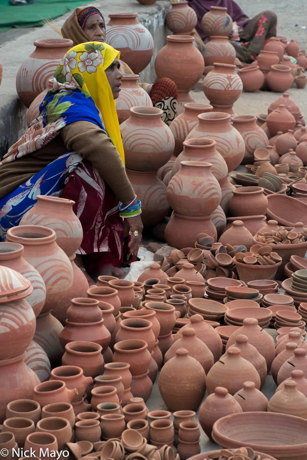 India, Madhya Pradesh, Market, Selling, photo