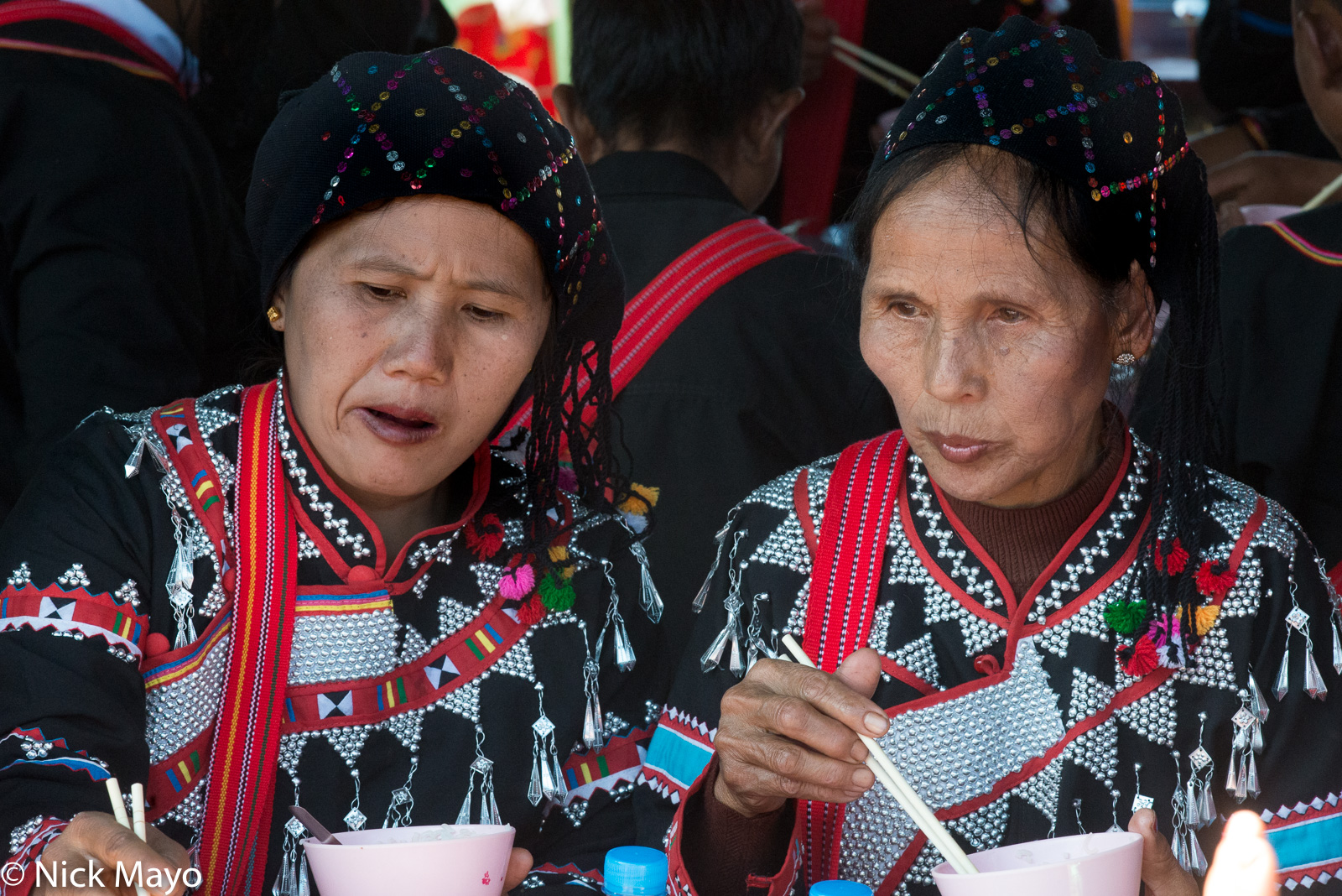 Burma, Eating, Festival, Lahu, Shan State, photo