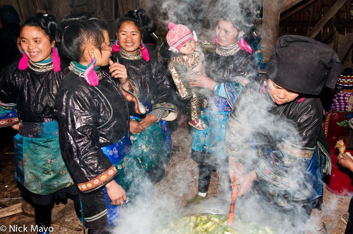 Baby Shower,China,Guizhou,Miao, photo
