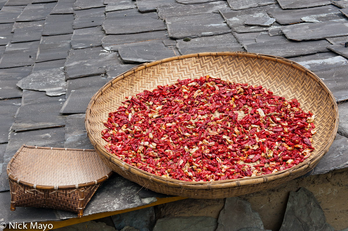 Chilli,China,Drying,Yunnan, photo